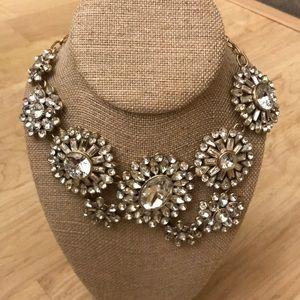 J. Crew asymmetrical statement necklace